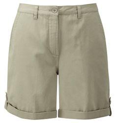 Damart stone adjustable shorts, product code R663. www.damart.co.uk