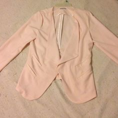 Must have blazer This is a super cute blazer that can be dressed up or down. Defiantly one of my favorite pieces! Charlotte Russe Jackets & Coats Blazers
