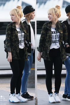 Red Velvet Wendy Airport Fashion 150411 2015 Kpop
