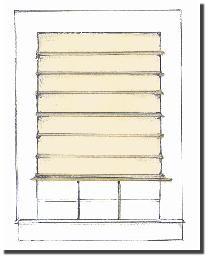 hanging roman blinds diy instructions