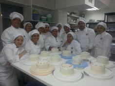 Grupo matutino en @Grupo Acádemico Panadero Pastelero, (GAPP) Maestría de Repostería