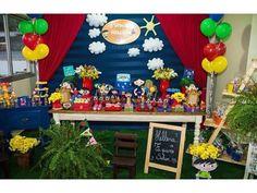 Decoração Temática: Show da Luna   Decoração de Festas - (11) 3384-8308
