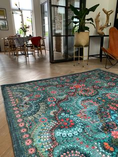 Moon delight by Pip Dark green Moon delight dark green designed by Pip Studio. Available in different sizes. Home Decorators Rugs, Pip Studio, Green Moon, Green Carpet, Bohemian Decor, Bohemian Homes, Indoor Outdoor Carpet, Home Decor Styles, Floor Rugs