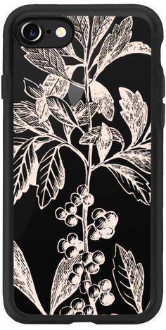 Casetify iPhone 7 Classic Grip Case - Blush Berry Bush by Jande Laulu #Casetify