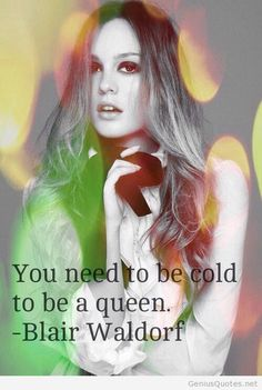 Blair Waldorf quote image