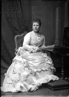 Princess Helena, daughter of Queen Victoria, ca. 1870s.