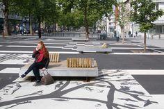 The Francois Mitterrand Strip by Mutabilis Paysage et Urbanisme « Landscape Architecture Works | Landezine