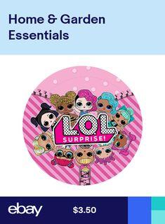 LOL Dolls Birthday Party Girls Label Bag Lollipop Favor