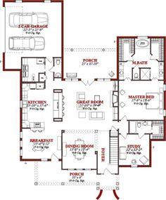 Rambler Floor Plans