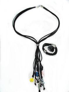 Conjunto collar y pulsera antelina. www.laestrellademar.es