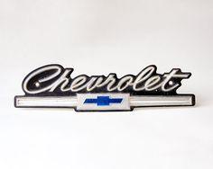 Chevrolet Grille Emblem Original 1966 Chevy