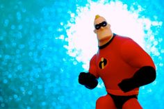 Mr. Incredible is ready for action!