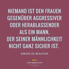 Simone de Beauvoir: Niemand ist den Frauen…