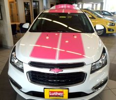 Luther Brookdale Chevy  brookdalechevy  on Pinterest Luther Brookdale Chevrolet   Help Us Give to Breast Cancer Research   Luther  Brookdale Chevrolet in