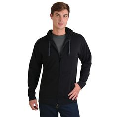 Show details for Classic Zip Up Hoodie Zip Ups, Athletic, Hoodies, Classic, Jackets, Fashion, Derby, Down Jackets, Moda
