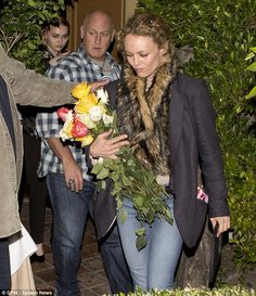 Happy Sweet 16: Johnny Depp's daughter Lily-Rose celebrated her Sweet 16 birthday with both her mom Vanessa Paradis and her famous dad (who wasn't pictured) at Ago in West Hollywood, CA on Wednesday night