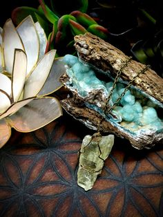 Hiddenite- Stone of the Heart- Necklace