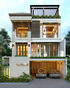 New home design plans front elevation Ideas Modern house design - Modern Exterior House Designs, Modern Small House Design, Small House Exteriors, Dream House Exterior, Modern Architecture House, Minimalist House Design, Modern House Facades, 3 Storey House Design, Bungalow House Design