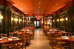 Otto Enoteca Pizzeria in NYC in the Village is another Mario Batali restaurant with amazing food and even has wine tasting classes - delish!