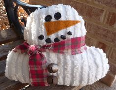 Chenille Snowman Gifts