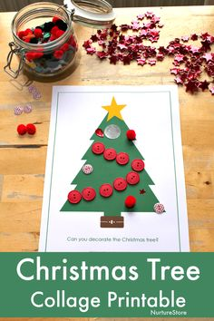 Child and child play Printable Christmas tree play dough mat - NurtureStore A DIY Craft For All Ages Cardboard Christmas Tree, Christmas Tree Template, Christmas Trees For Kids, Snowman Christmas Ornaments, Christmas Activities For Kids, Christmas Tree Cards, Fun Crafts For Kids, Felt Christmas, Christmas Printables