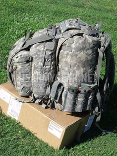 3017247e7b99 Loaded US Army ACU Backpack Set, 3 Days Assault Pack, Hydration Carrier +  Pouches