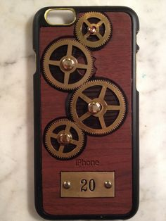 iGearz Hand Made Apple iPhone 6 Steampunk Neo Victorian by iGearz