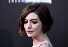 Haircut idea - Anne Hathaway's bob