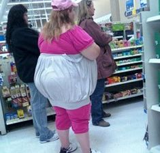 What is wrong with people that they think it's ok to go out in public like this?  (Stay Classy, People of Walmart - Funny Pictures at Walmart)