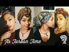 It's Turban Time! Headwrap Tutorial - YouTube