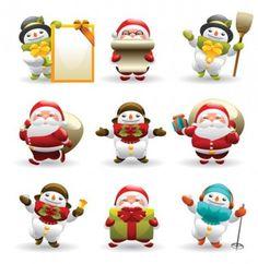 imagenes de muñecos de nieve - Buscar con Google