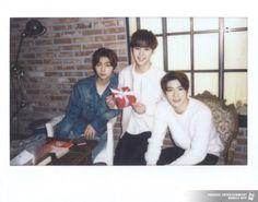 Johnny, Kun and Jaehyun #SMROOKIES