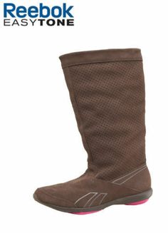 304431d2856d7 Ladies Reebok Slimtone Easytone Reecharm suede leather toning boots size  8.5 Suede Leather