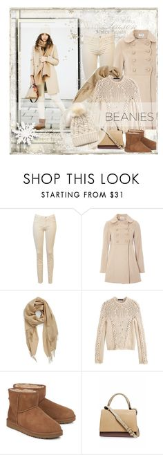 """""""Winter Season 2017 / City Girl / Winter Day / Beanies"""" by mrswomen ❤ liked on Polyvore featuring Nordstrom, Alexander Wang, UGG Australia and MaxMara"""