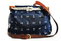 LOVE AND NEED THIS IN MY LIFE! Cloth Handbag - Wellfleet Anchorage - by Kiel James Patrick