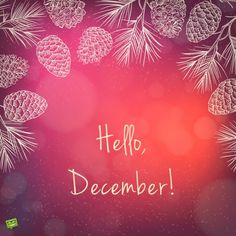 Hello December ☃ : QUOTATION – Image : Quotes Of the day – Description Hello December Sharing is Power – Don't forget to share this quote ! Hello December Quotes, Hello November, Days And Months, Months In A Year, New Month Wishes, New Month Quotes, December Challenge, December Wallpaper, Phone Wallpaper Design