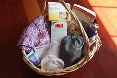 Counting Coconuts: New Mother Breastfeeding Kit - Love this kit, wish someone had given me one - there are a few things she mentions that I've never known about/tried and probably will next time.