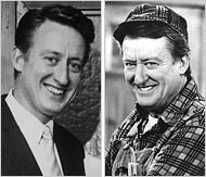 """Thomas Gordon """"Tom"""" Poston (October 17, 1921 – April 30, 2007) was an American television and film actor. He starred on television in a career that began in 1950. He appeared as a comic actor, game show panelist, comedy/variety show host, film actor, television actor, and Broadway performer. According to USA Today Life editor Dennis Moore, Poston appeared in more sitcoms than any other actor. In the 1980s, he played George Utley, opposite Bob Newhart's character on Newhart."""