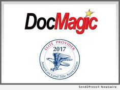 DocMagic, Inc., the mortgage industry's leading provider of document production, automated compliance and comprehensive eMortgage services, announced that it has been accepted into the Elite Provider Program for American Land Home Title Association (ALTA).