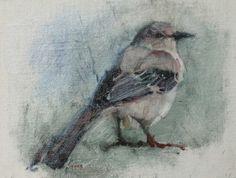 23- Mocking Back, painting by artist V....Vaughan