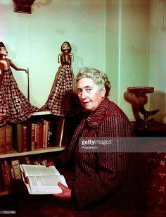 1949, English detective novelist Agatha Christie
