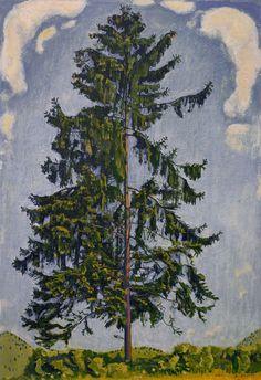 Ferdinand Hodler #tree #art