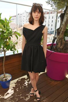 Stacy Martin attends a private lunch hosted by Colin Livia Firth and Caroline Scheufele celebrating Chopard and the Journey to Sustainable Luxury at...