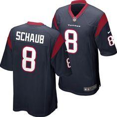 c44a2cff3 Houston Texans Matt Schaub  8 Nike NFL Replica Game Jersey (Navy) Team  Apparel