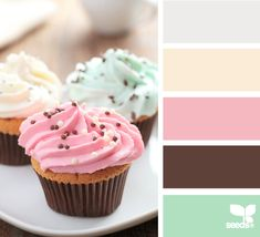 Design Seeds for all who color frosted tones Colour Pallette, Colour Schemes, Color Combos, Color Patterns, Design Seeds, World Of Color, Colour Board, Color Swatches, Color Theory