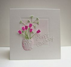 Cards from Lynne`s Loft: Simply Less is More # 173