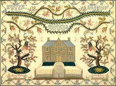 Hedgerow House - Publishers of American Folk Art - Marion Wilson, circa 1800