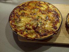 courgette, morbier, oeuf, crème, lait, curry, persil, poivre, Sel, pâte brisée