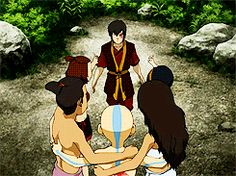 Team Avatar group hug! :) Source: http://rebloggy.com/post/mine-aang-sokka-atla-katara-zuko-suki-toph-avatar-the-last-airbender-momo-appa-m/72388712923