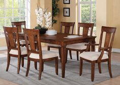 Flexsteel Furniture: Tables & Chairs: River ValleyRectangular Dining Table (W1572-830)